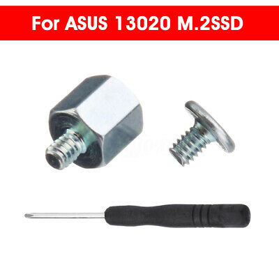 Mounting Kit Stand Off Screwdriver + Screws For ASUS 13020 M.2SSD  I • 54.92£