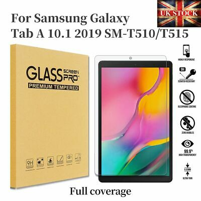 Tempered Glass Screen Protector For Samsung Galaxy Tab A 10.1 2019 T510 T515 • 3.95£