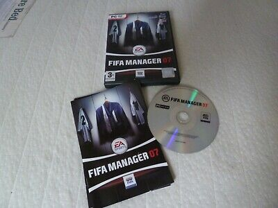 PC CD ROM - FIFA Manager 07 • 1.80£