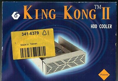KING KONG II HHD COOLER - 3.5in HARD DISK DRIVE COOLING WITH MOLEX CONNECTOR • 12.99£