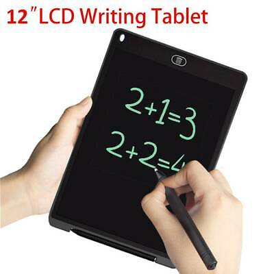 12  LCD Tablet Drawing Writing Board Kid Notepad EWriter Digital Graphic Gifts • 8.69£