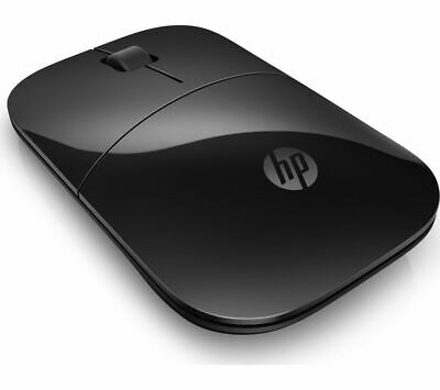 HP Z3700 Wireless Optical Mouse Scroll Wheel 2 Buttons AA Battery Black - Currys • 14.99£