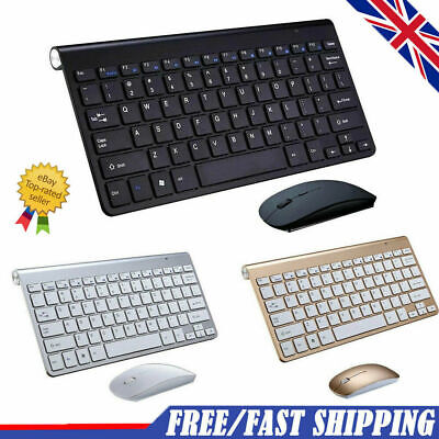 2.4G Mini Wireless Keyboard And Mouse Set Waterproof For Mac Apple Computer UK • 16.99£