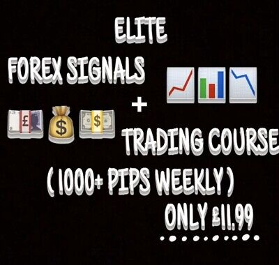 *sale* Elite Forex Signals+learning Course For Just £11.99 • 11.99£