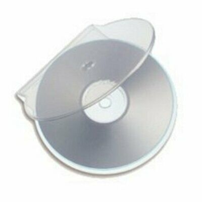 C-Shell Single Clear DVD/CD Case - Pack Of 50 • 10£