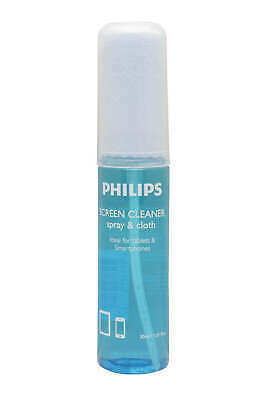 Philips Screen Cleaner Smartphone Tablets  Glasses  TV Hygenic + Cloth 30 Ml • 3.95£