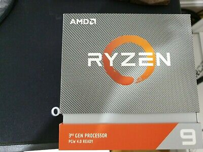 AMD Ryzen 9 3950X CPU 16-Core AM4 3.5GHz 4.7 Turbo 105W 7nm 3rd Gen Matisse • 408£