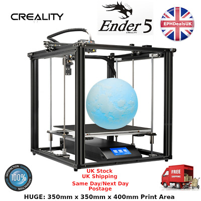 Creality 3D® Ender-5 Plus 3D Printer Kit 350*350*400mm Large Print Size Support • 565.95£