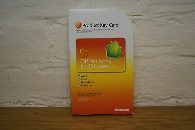 Microsoft Office 2010 Home And Student (Original Product Key Card) • 24.95£