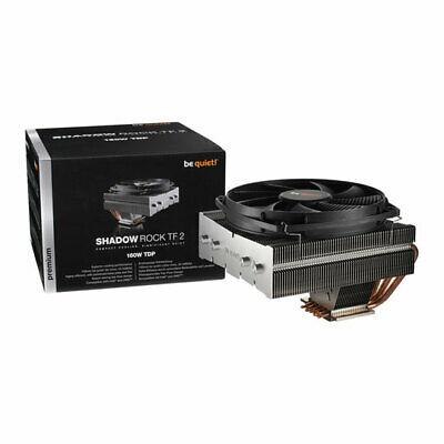 Be Quiet! Shadow Rock TF 2, Top Flow Single Tower CPU Cooler, 5 Heatpipes, 135mm • 59.10£