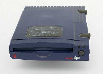 Iomega ZIP Drive - Parallel 100Mb Inc. 100Mb Disk, Parallel Cable & Power Supply • 4.99£