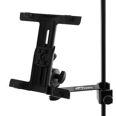 Tiger Tablet IPad Mount For Microphone/Music Stand With Clamp • 16.99£