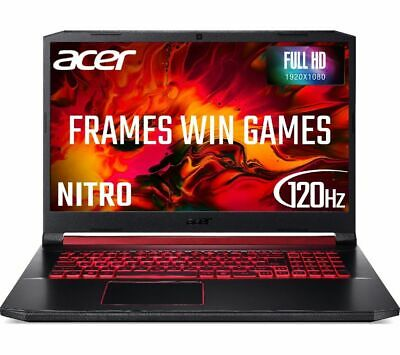 ACER Nitro 5 AN517 17.3  Gaming Laptop Intel Core I7 RTX 2060 256 GB SSD Currys • 999£