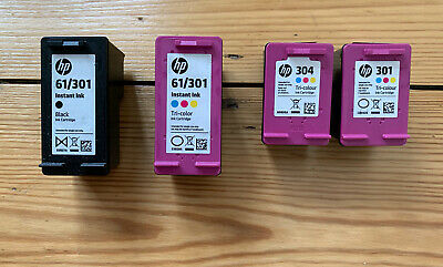 Used / Empty HP Ink Cartridges X 4 • 14.99£