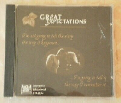 1998 Great Expectations Interactive Educational CD Rom Macintosh PC Compatible.  • 10£