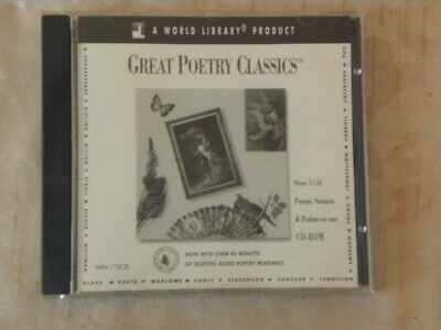 Great Poetry Classics CD Rom Computer Windows 4.6 Dos 6.07  • 10£
