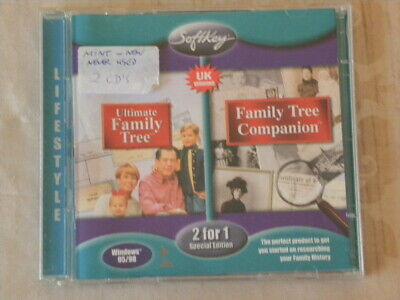 The Ultimate Family Tree CD Rom Computer Windows 95/98  • 10£