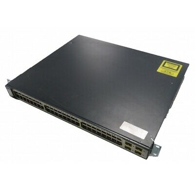 Cisco Catalyst WS-C3750-48PS-S 48-Port V05 L3 Managed Switch With POE • 29.95£