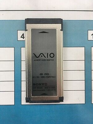 Sony VAIO Laptop Memory Card Adaptor VGP-MCA20 • 10£
