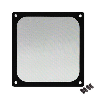 120*120mm Magnetic Black Mesh Dust Filter PC Cooler Fan Filter With Case Covers • 4.16£
