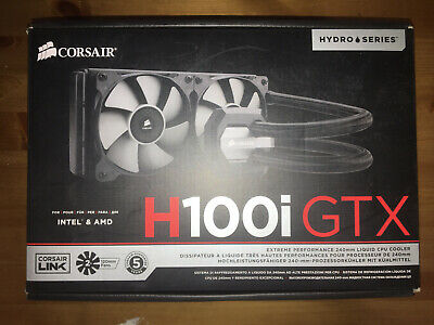 Corsair H100i GTX All Fittings And Cables In Box • 30£