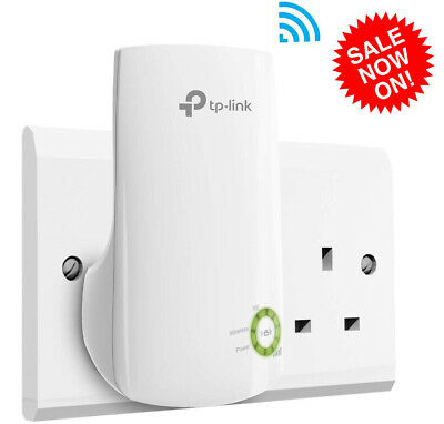 TP-Link WiFi Range Extender Internet Signal Booster Wireless Repeater Universal • 15.99£
