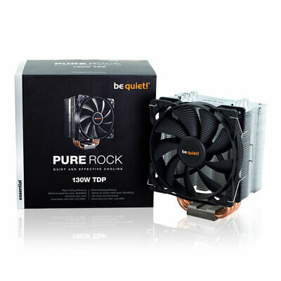 Be Quiet! Pure Rock Compact Single Tower CPU Cooler, 4 Heatpipes, 1x120mm Silenc • 36.24£