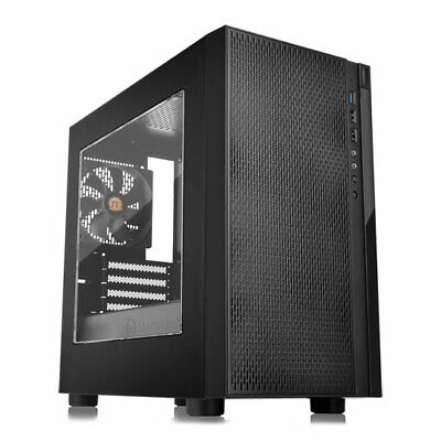 Thermaltake Versa H18 Black Micro-ATX Chassis With Window, MicroATX/Mini-ITX, 12 • 42.72£