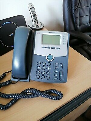 Cisco SPA504G IP Phone - Grade A - Next Day Delivery - 3 Month Warranty • 16.99£