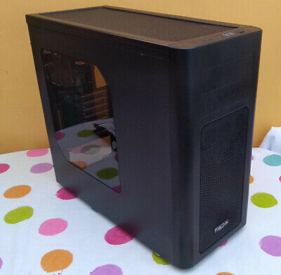 Fractal Design Arc Midi R2 - ATX PC Case - Windowed Side Panel - Used • 21£