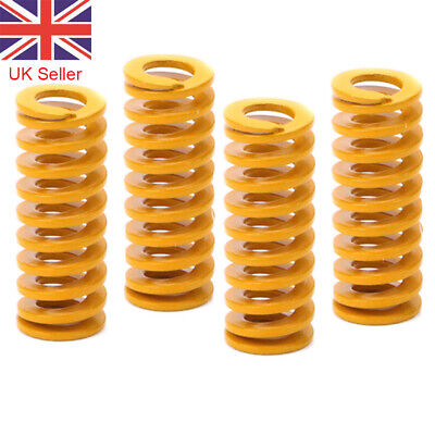 4 Pcs Hot Bed Leveling Springs For Creality Ender 2/3/5 CR-10S Pro 3D Printer UK • 3.49£