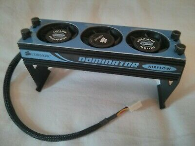 Corsair DOMINATOR RAM Cooler AIRFLOW PC Gaming Fan Unit RARE Vintage 90s AMAZING • 15£
