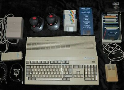 Commodore Amiga 500 Plus, 45 Disks Games And Software And Much More. • 99£