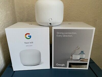 2 X Google Nest Wifi Points - Hardly Used. • 100£