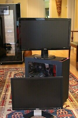 Custom Built Professional Gaming Computer With 2 Monitors, Exc Condition • 950£