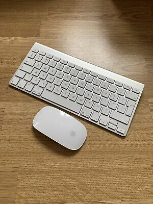 Apple Keyboard & Mouse Wireless Bluetooth Duo Set A1314 A1296 • 79.99£