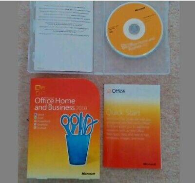 Microsoft Office Home And Business 2010 DVD Used • 25£