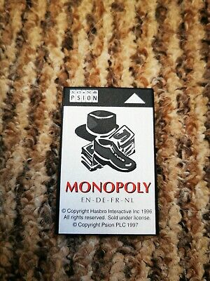 Monopoly Psion Series 3 Only One On Ebay • 29.99£