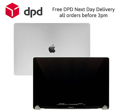 Replacement MacBook Pro Mid 2018 A1989 LCD Screen Display Assembly Silver • 274.99£