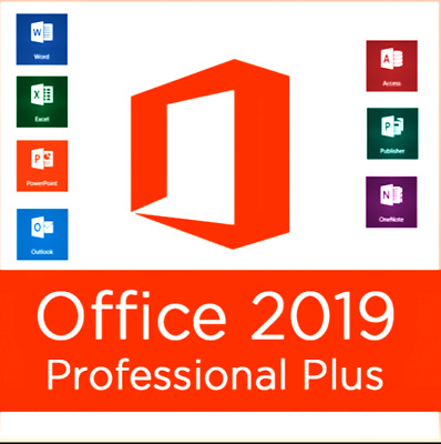 ⭐MS Office 2019 Professional PLUS Lifetime & Update⭐ FOR 1 USER • 7.33£