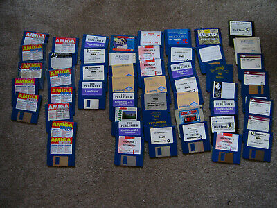 Collection Of Amiga Software Disks • 1£