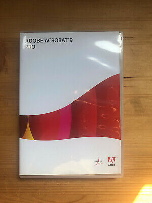 Adobe Acrobat Pro 9 Full Version DVD And Serial Windows Edition • 30£