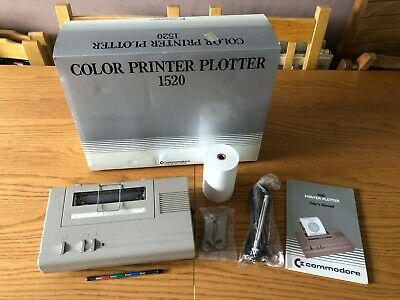 Commodore 1520 Colour Printer Plotter - Early 1983 - NOS - Unused - Mint • 84£