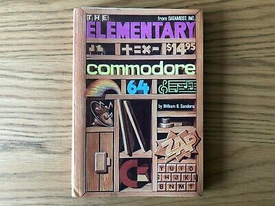 Commodore 64 Book - Elementary Commodore 64, The By Datamost • 4.20£
