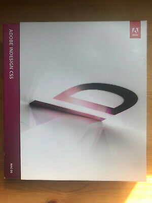 Adobe CS5 Indesign CS5 - Full Version - English - DVD And Serial Number • 80£