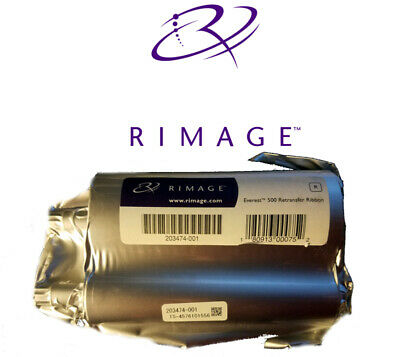 Genuine Rimage Everest III II ReTransfer Re-Transfer Ribbon 203474-001 UK Seller • 69£