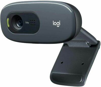 NEW Logitech C270 HD 720p/30fps Webcam With Microphone Widescreen Video Calling • 42.49£
