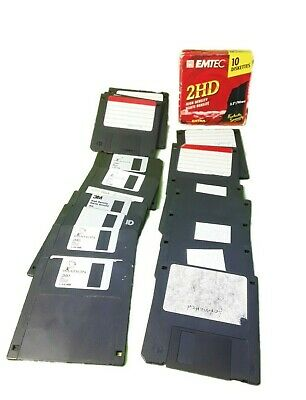 20x  Used 3.5  Floppy Disks Discs Maxell And Imation • 10.99£