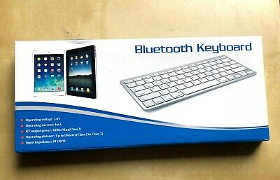 OMOTON Ultra-Slim Bluetooth Keyboard Compatible With IOS And MacOS • 11.10£