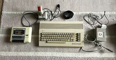Working Commodore 64c Computer Bundle Inc Boxed Original C64 Games And Joystick • 29.99£